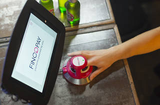You can now pay for a pint using just your finger at a bar in Camden