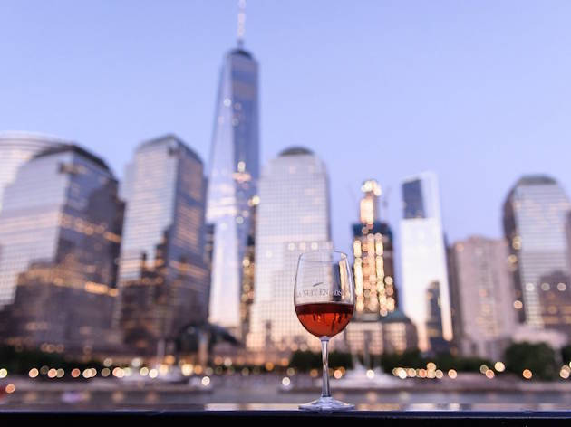 A floating rosé festival is coming to NYC this May