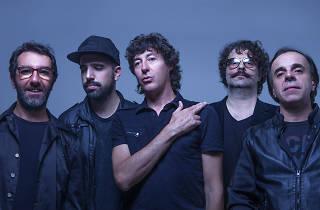El cuarteto de nos en el Vive Latino