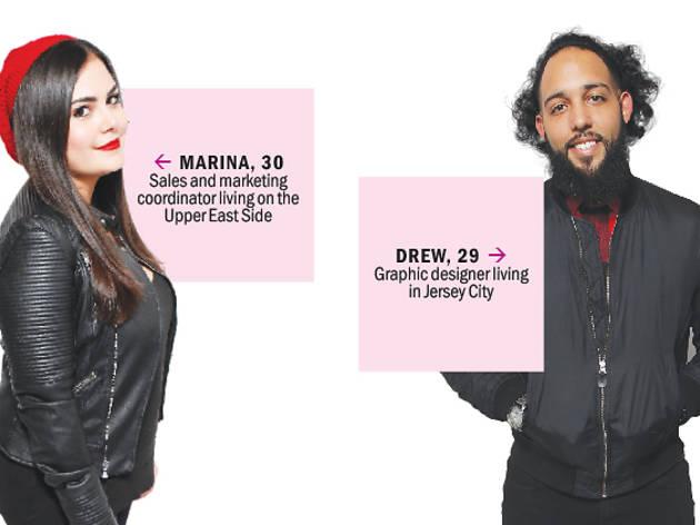 Marina and Drew