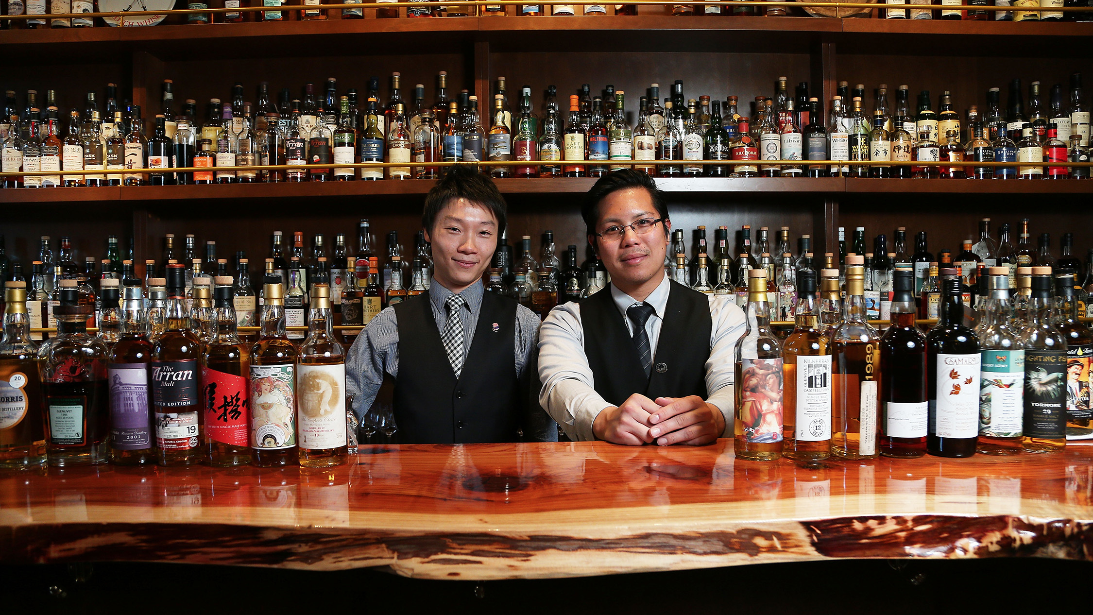 Bartenders at The Elysian