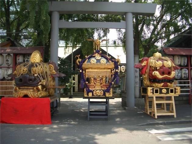 つきじ獅子祭り