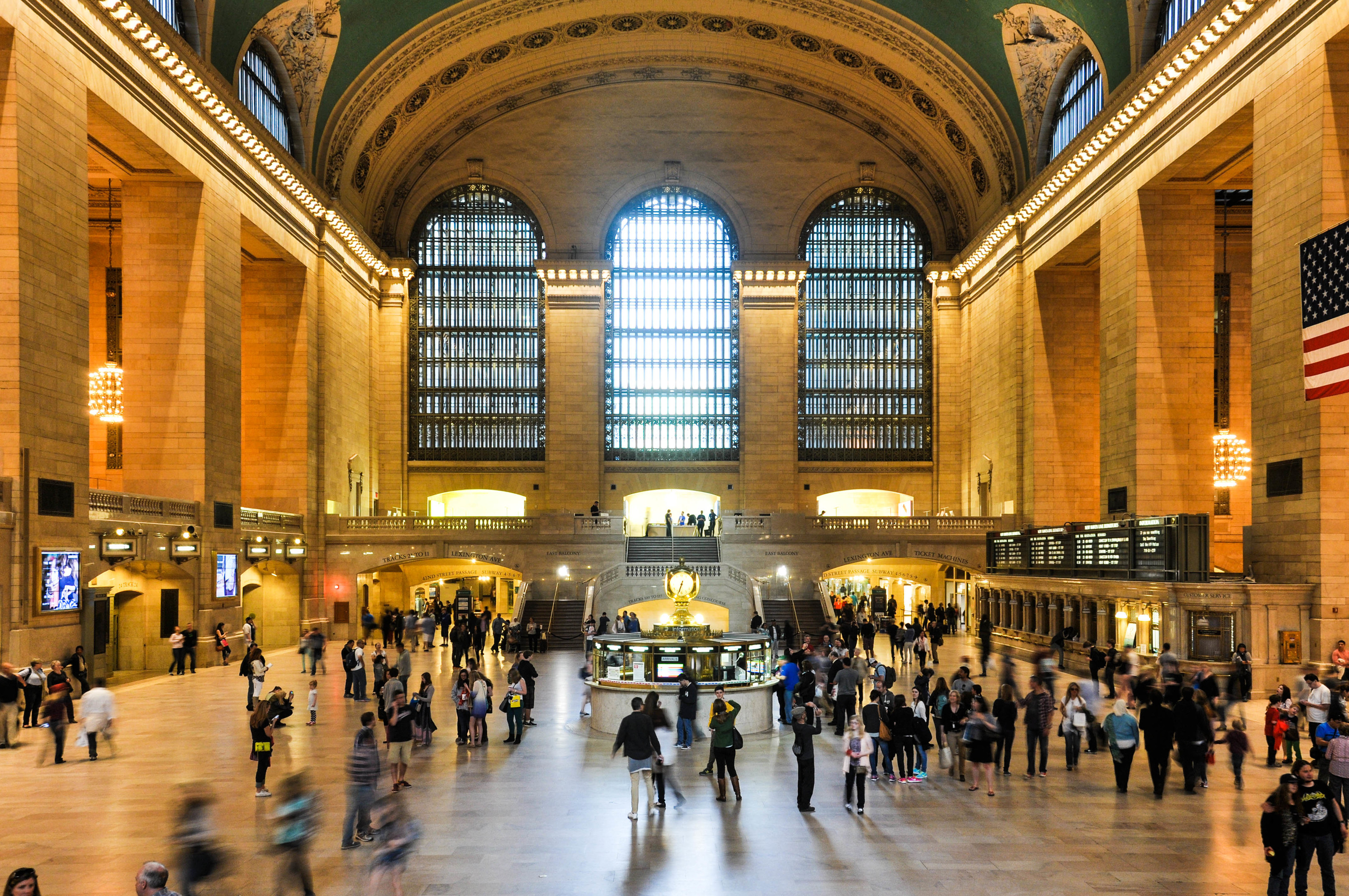 The bar carts will most likely be disappearing from Grand Central Terminal