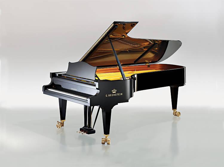 Oito peças para piano que metem água