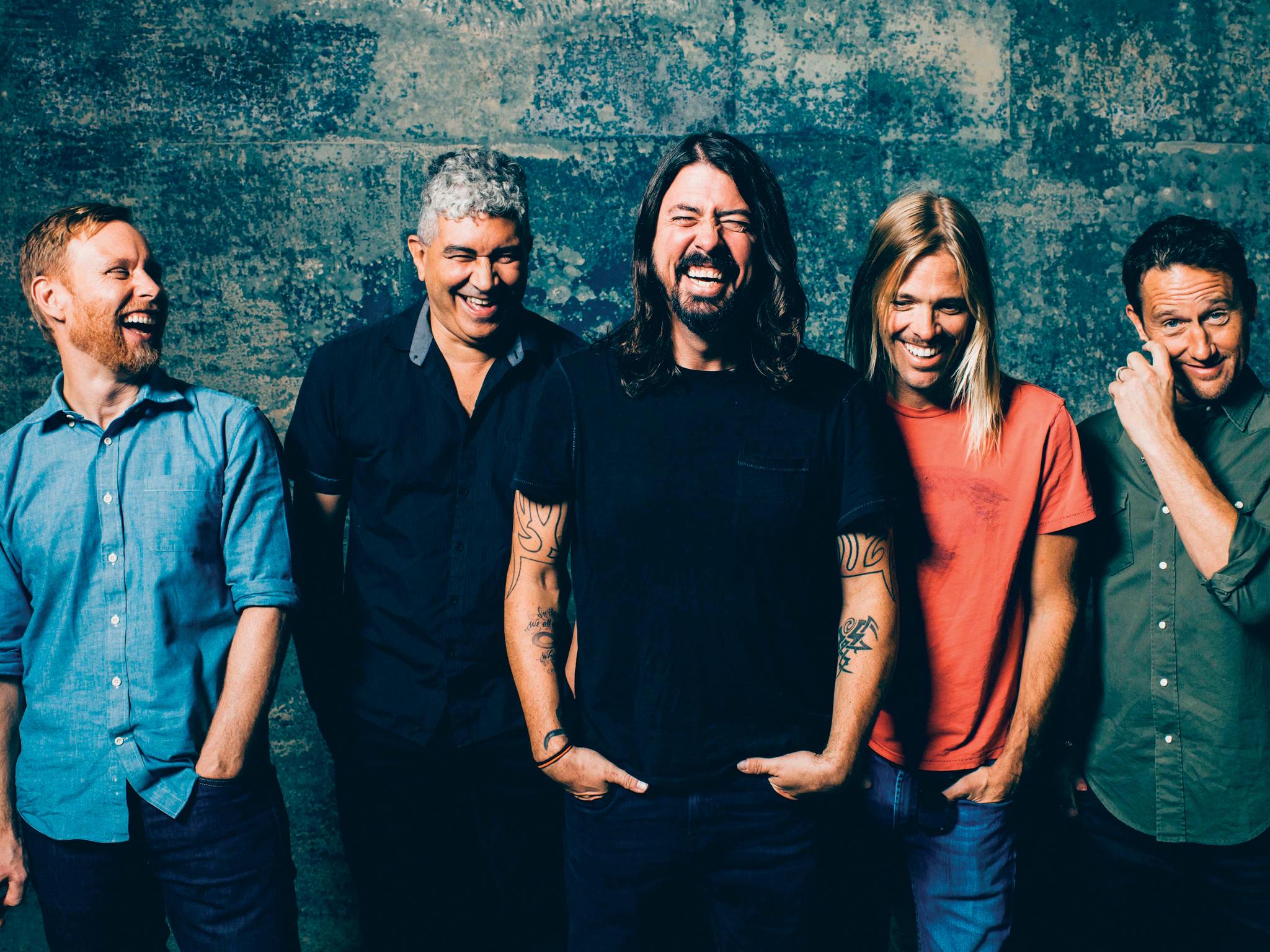 Foo Fighters vêm ao Rock in Rio Lisboa com novo álbum