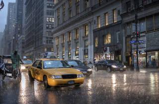 Rain in NYC