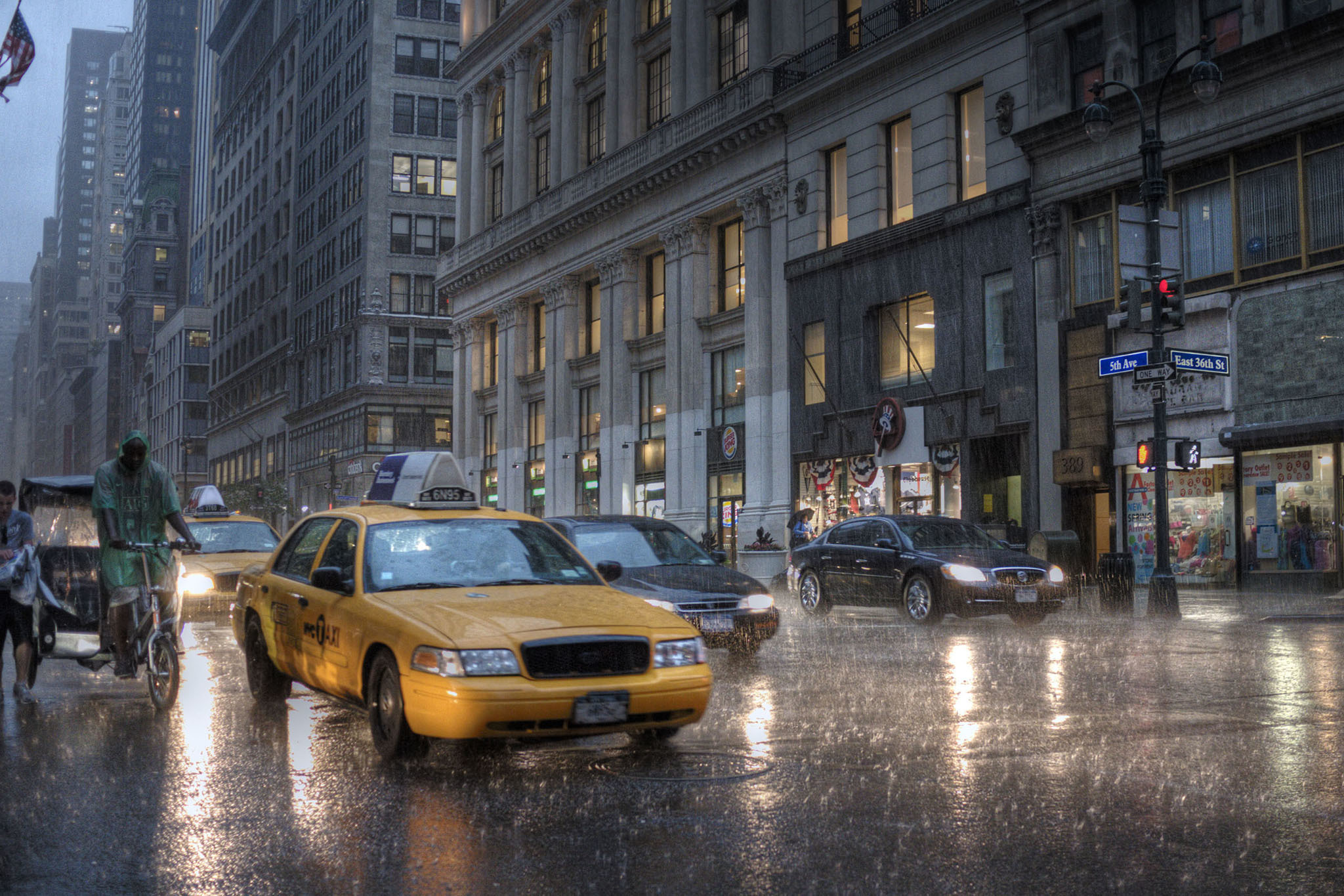 10 things New Yorkers need when it rains