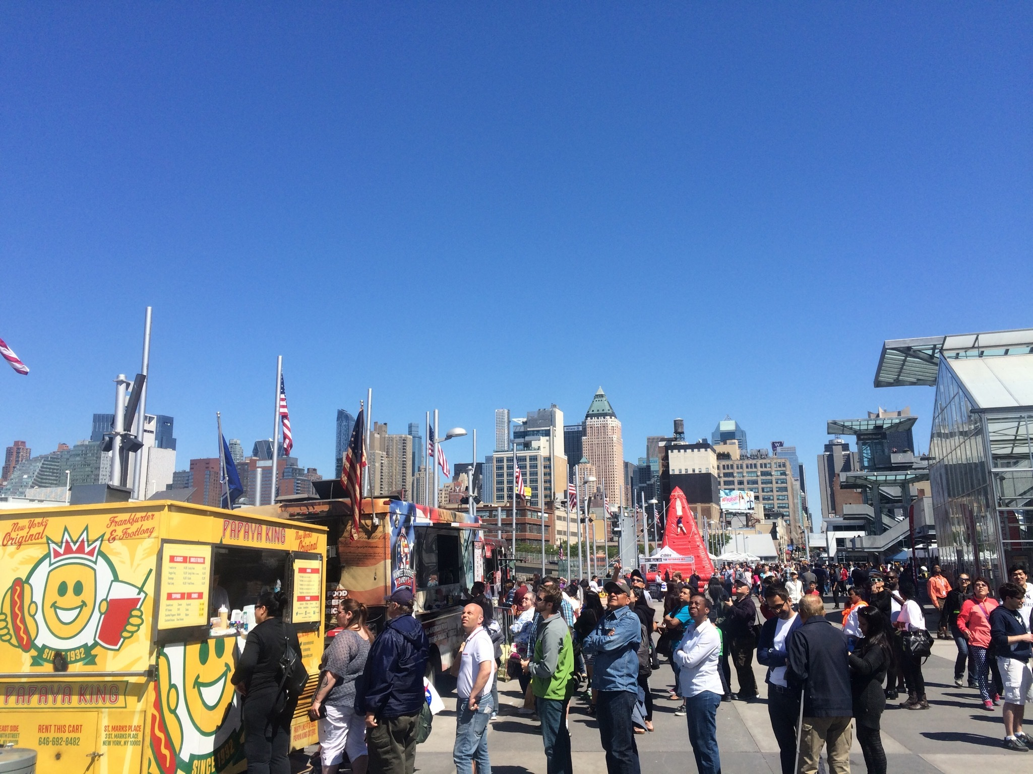 A slammin' NYC Food Truck Fest is happening next Sunday