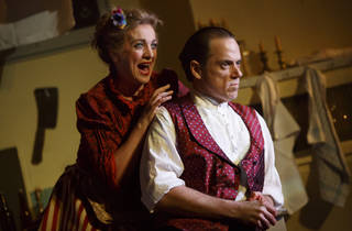 Theater review: Sweeney Todd in its site-specific, pie-shop staging is bloody brilliant