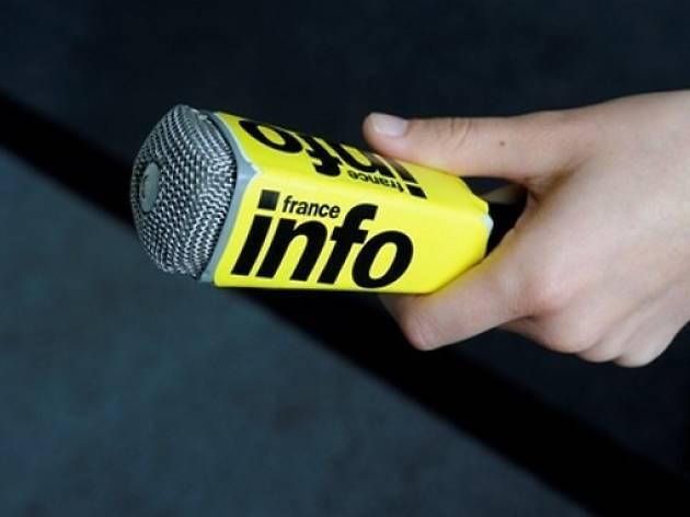 micro radio france info
