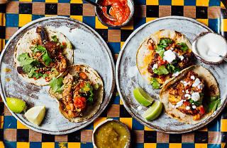 london's best tacos, breddos