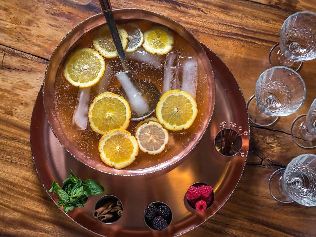 Honey Rum Punch at The Stinger