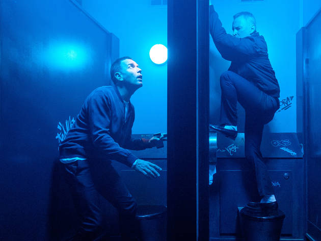 Ewan McGregor y Robert Carlyle en Trainspotting