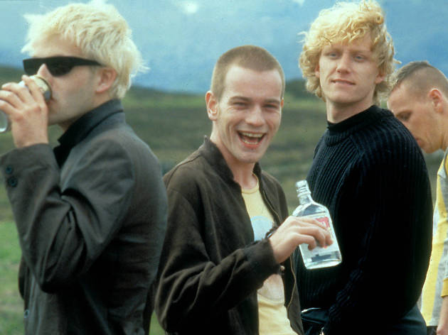 Trainspotting de Danny Boyle con Ewan McGregor