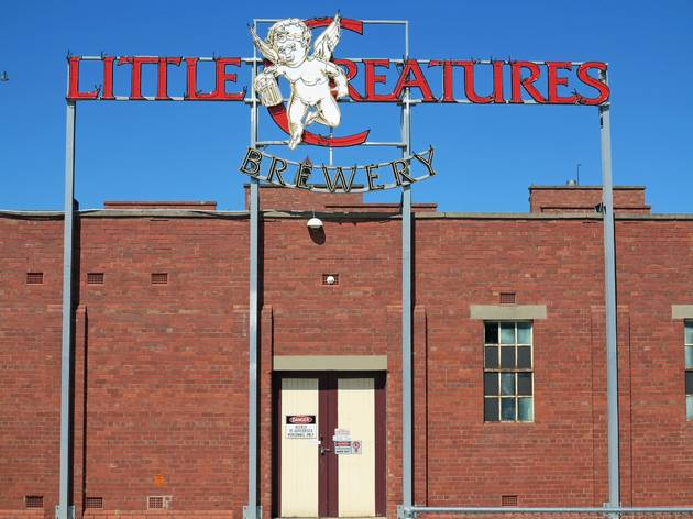 Brewery exterior at Little Creatures road trip
