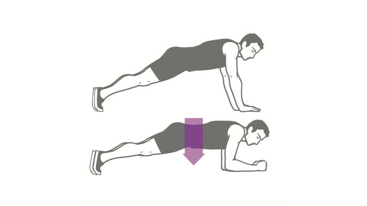 Sexercise para ellos / plancha