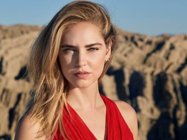Chiara Ferragni takes on the scorching Anza-Borrego Desert