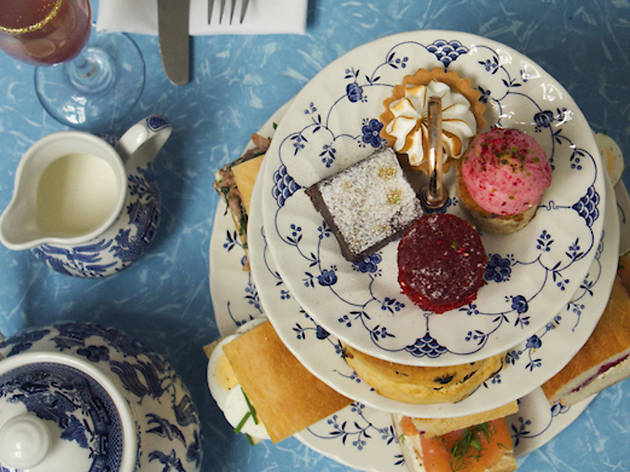 Afternoon tea at Drink, Shop & Do