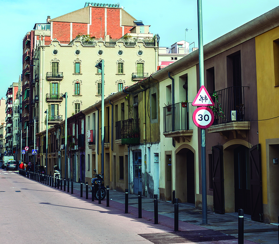 El carrer del Clot