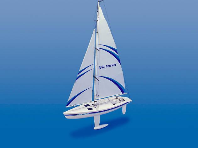 Victoria Yacht Sailboat Kit
