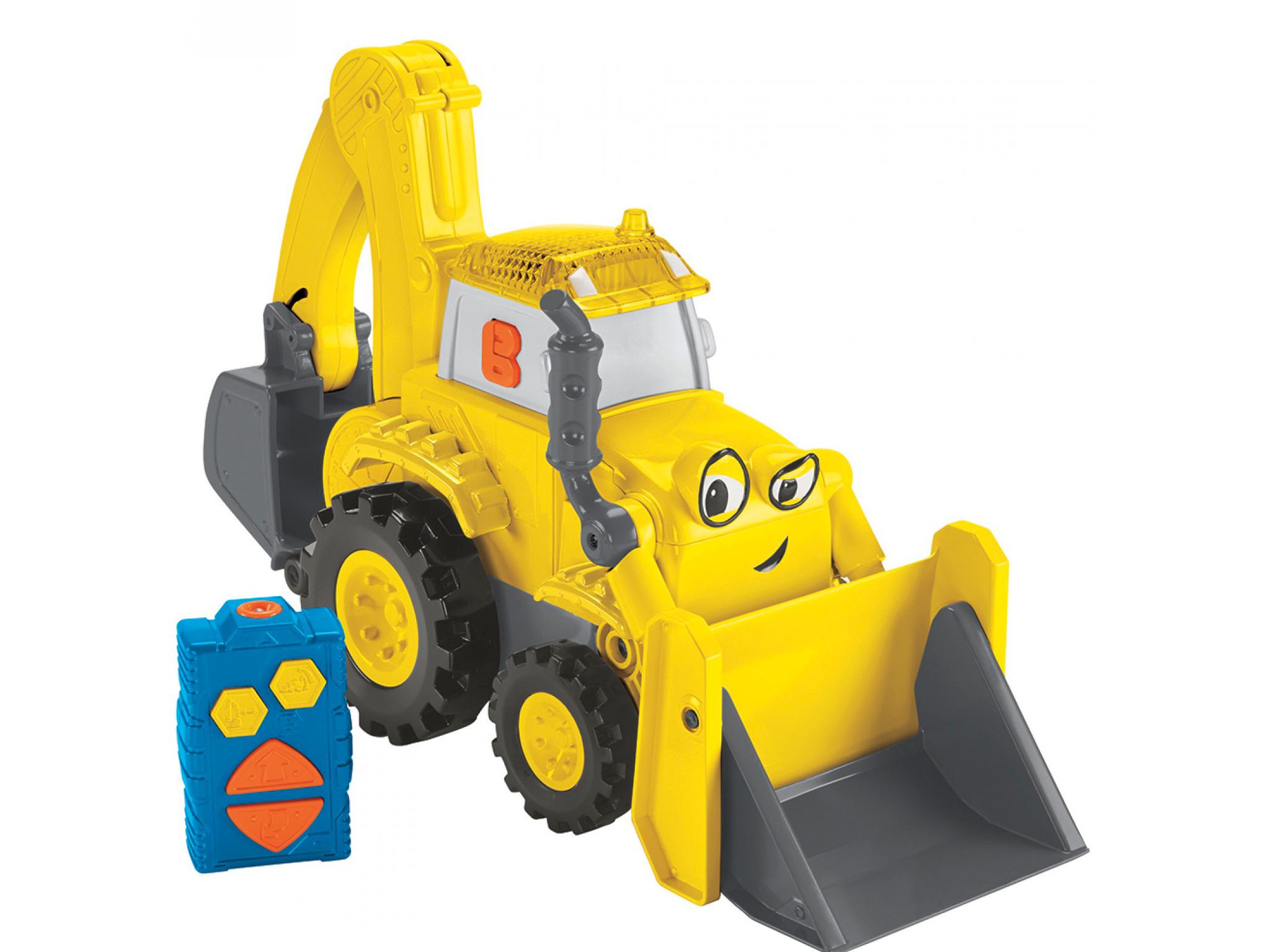 Bob el constructor, super scoop radio control