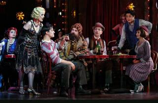 La Boheme 2017 Opera Australia production still feat cast photographer credit Prudence Upton