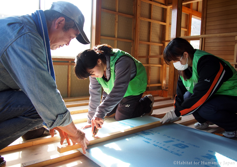 Tohoku Update: Get your hands dirty