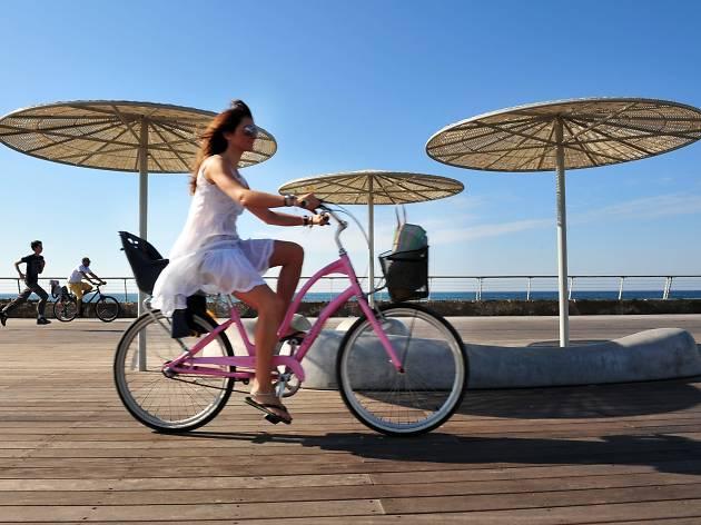 Une journée au port de Tel-Aviv