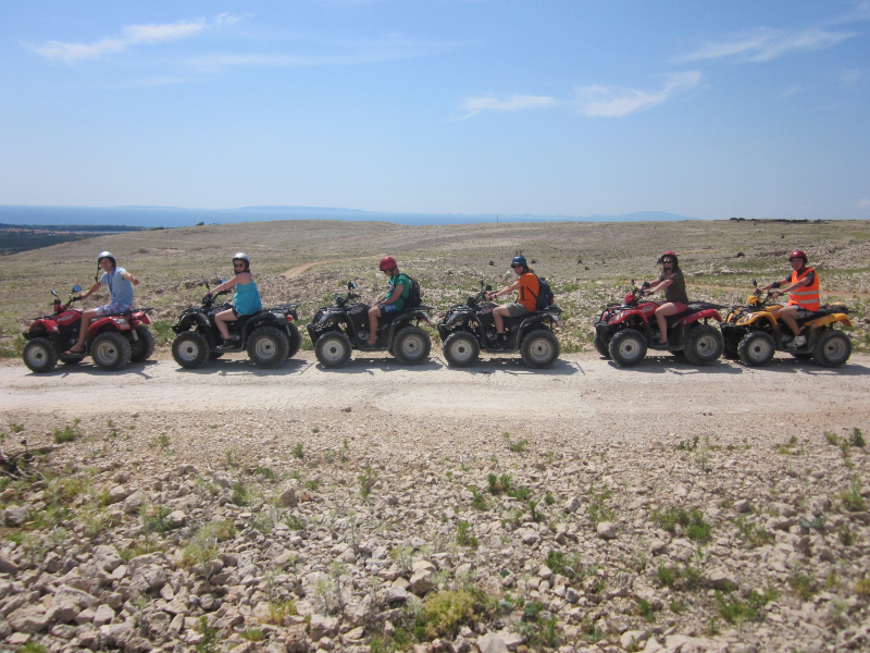 See Pag by quad bike