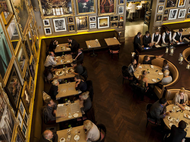 best restaurants in london, berners tavern