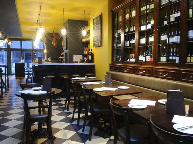 best restaurants in london, barrica