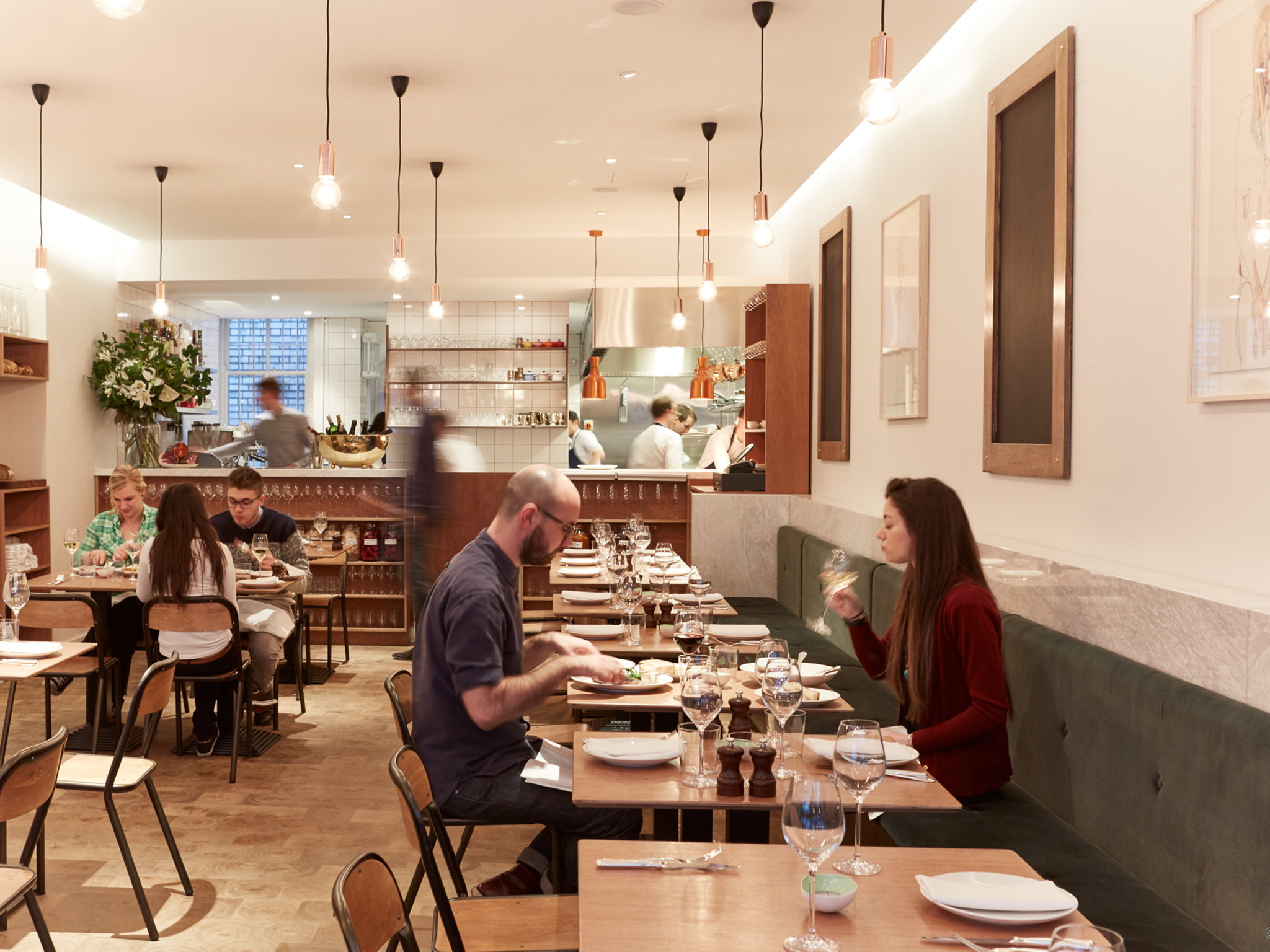 The best restaurants in Fitzrovia