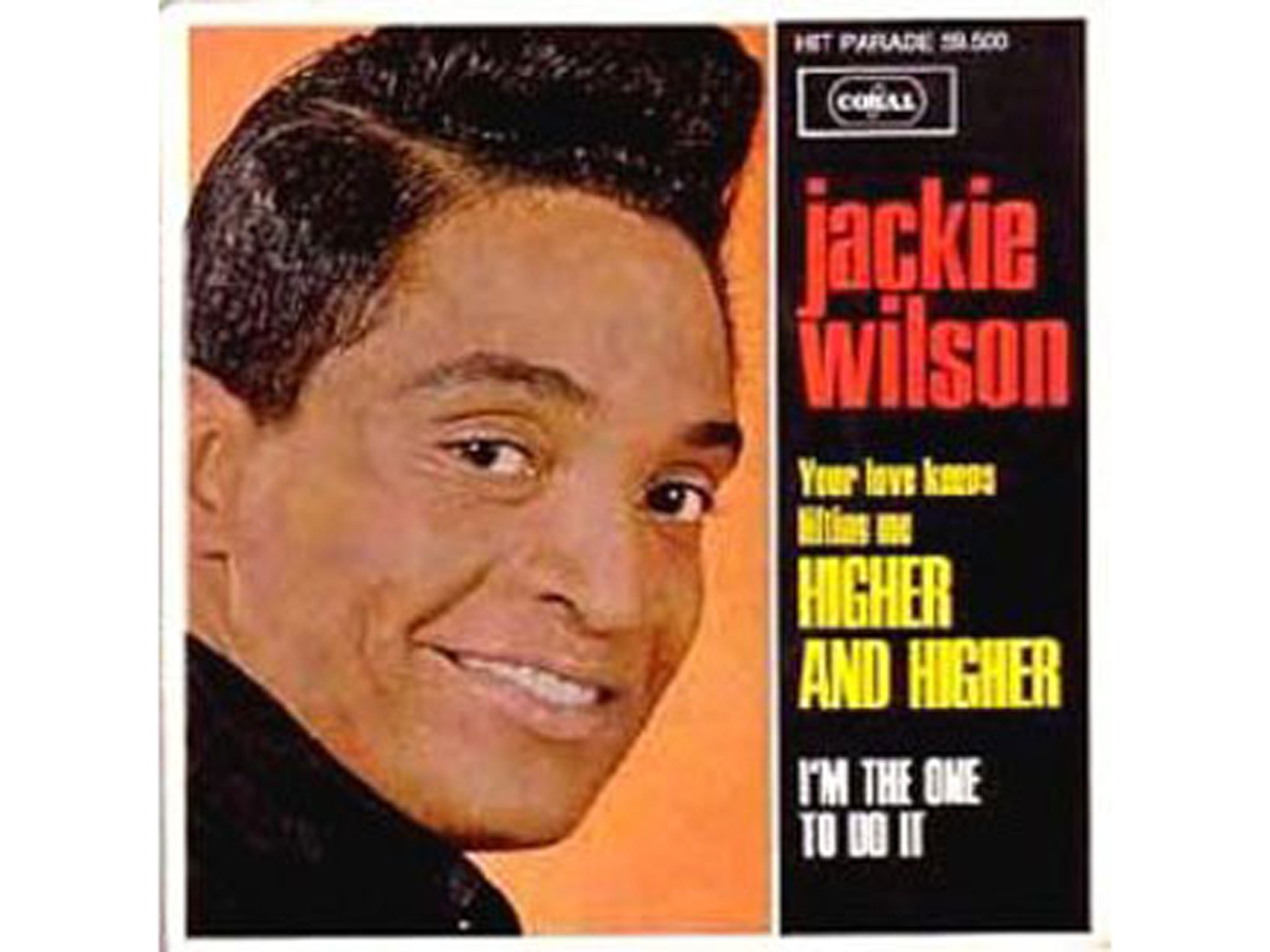 Jackie Wilson, higher and higher, best soul songs