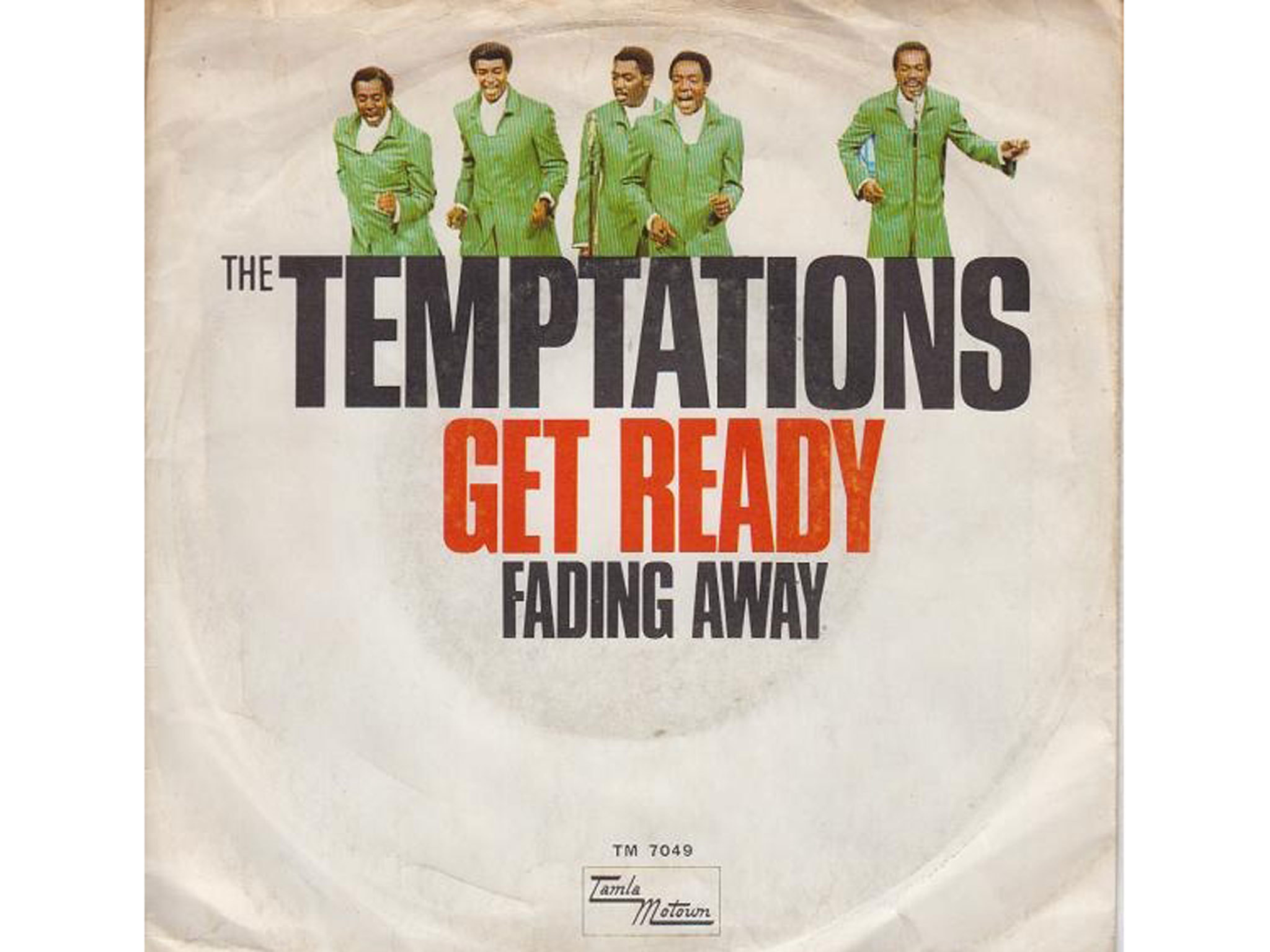 'Get Ready' – The Temptations