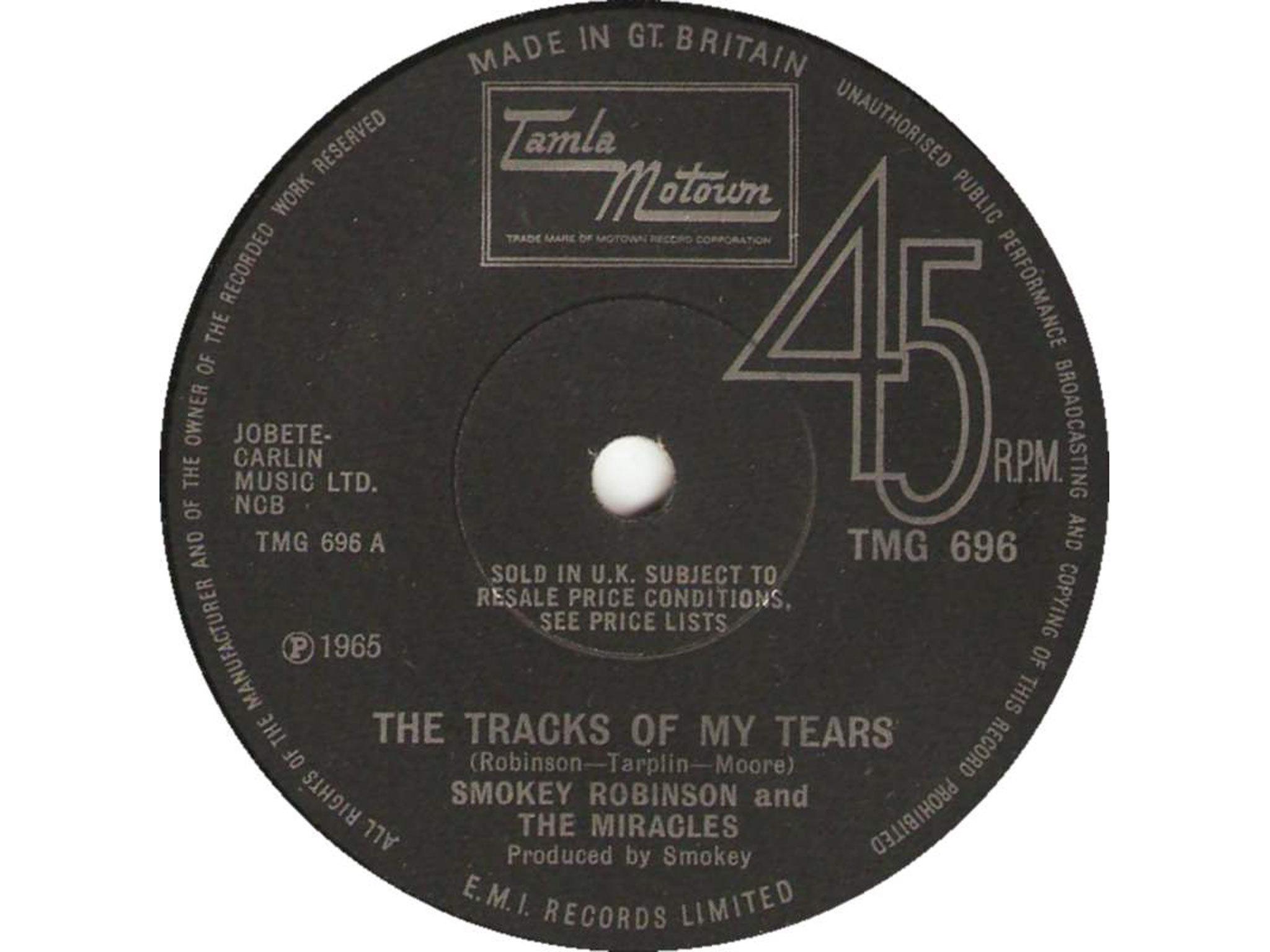 The Tracks of my Tears, best soul songs