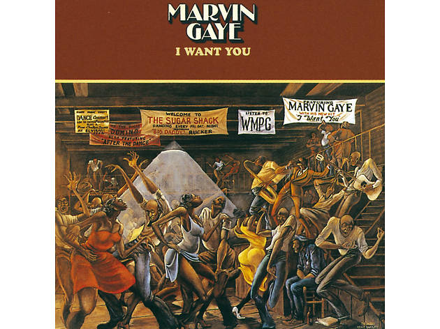 Marvin Gaye, I want you, best soul songs