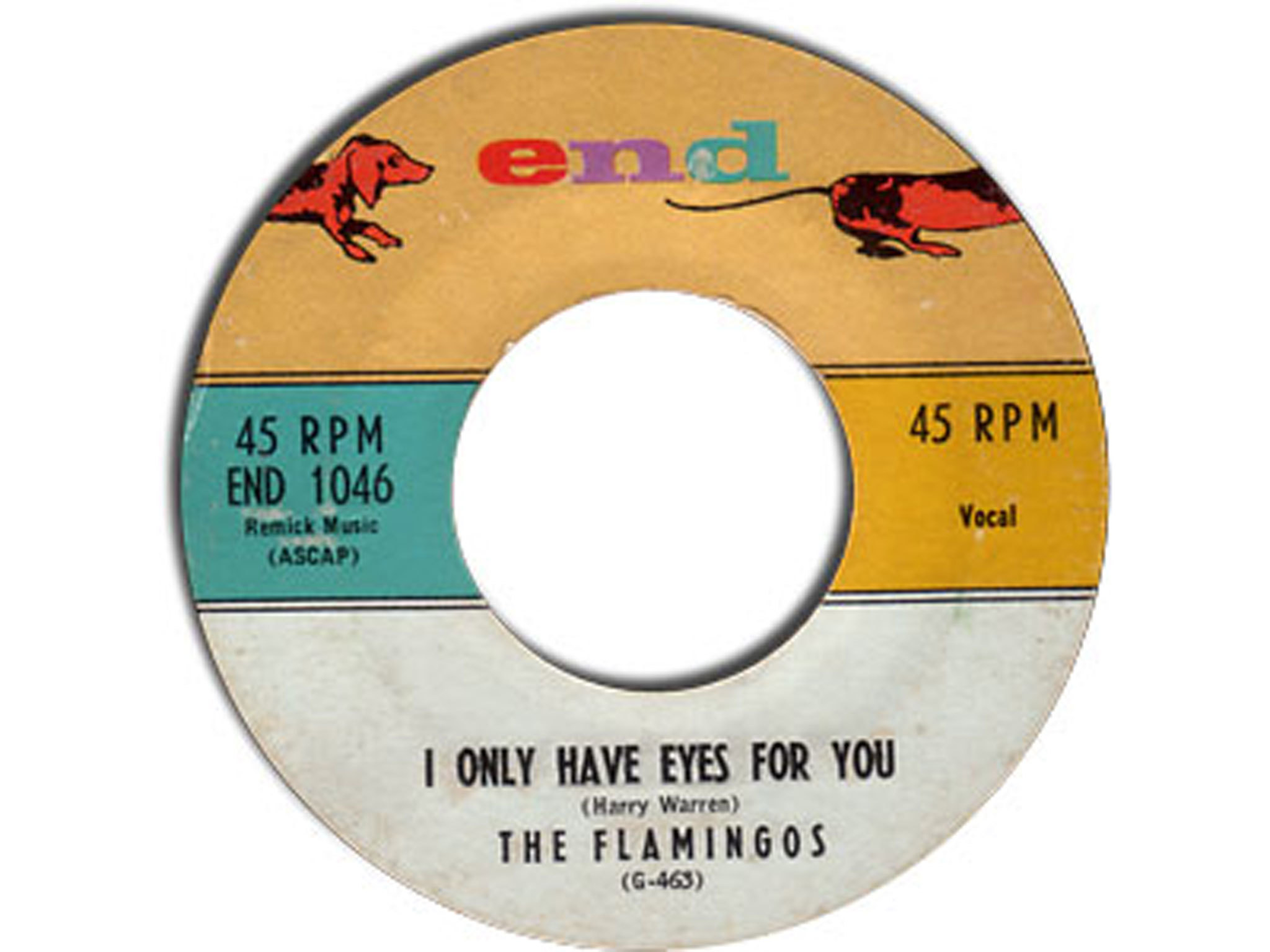 I only have eyes for you, The Flamingoes, best soul songs