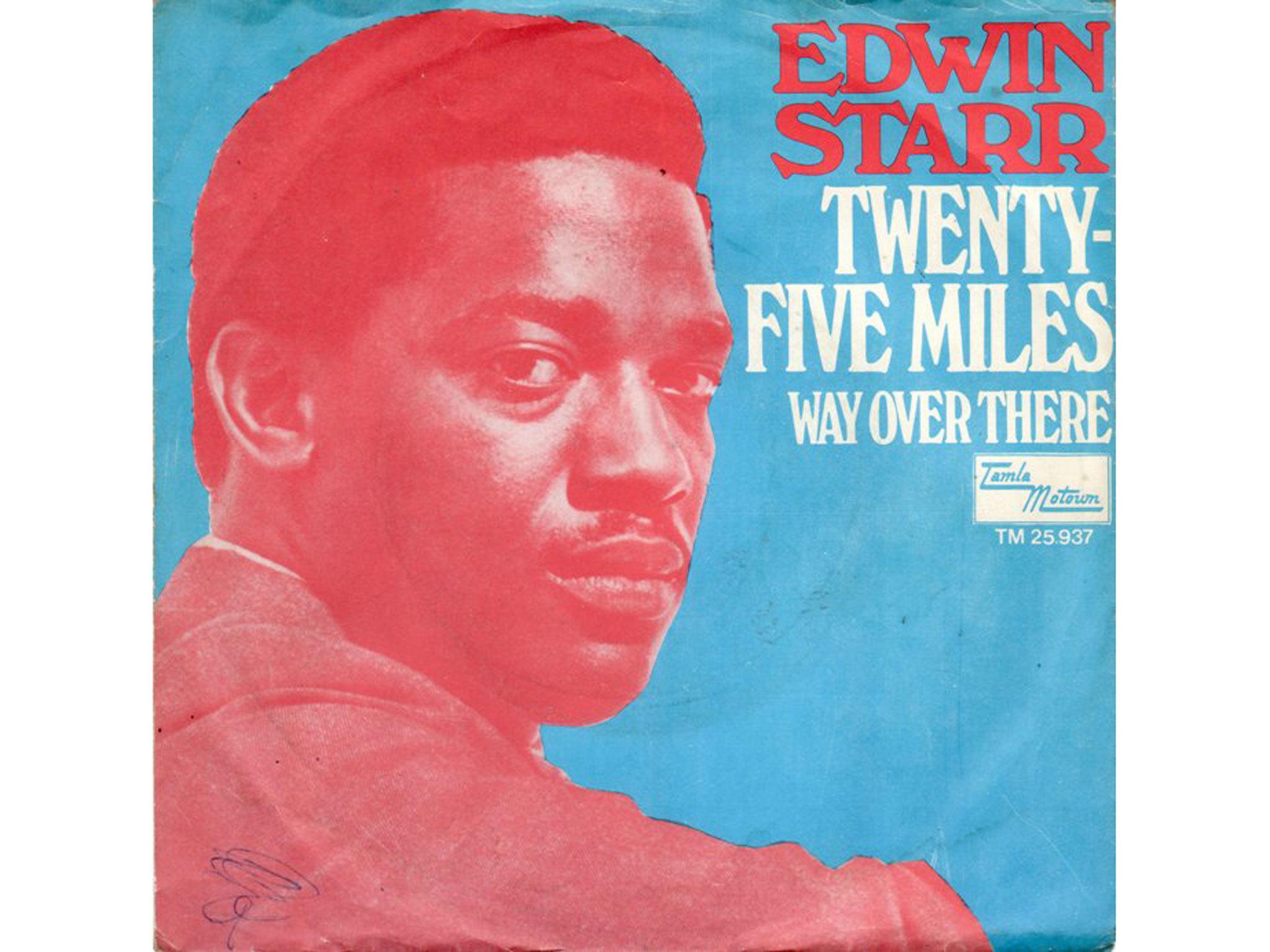Edwin Starr, 25 miles, best soul songs