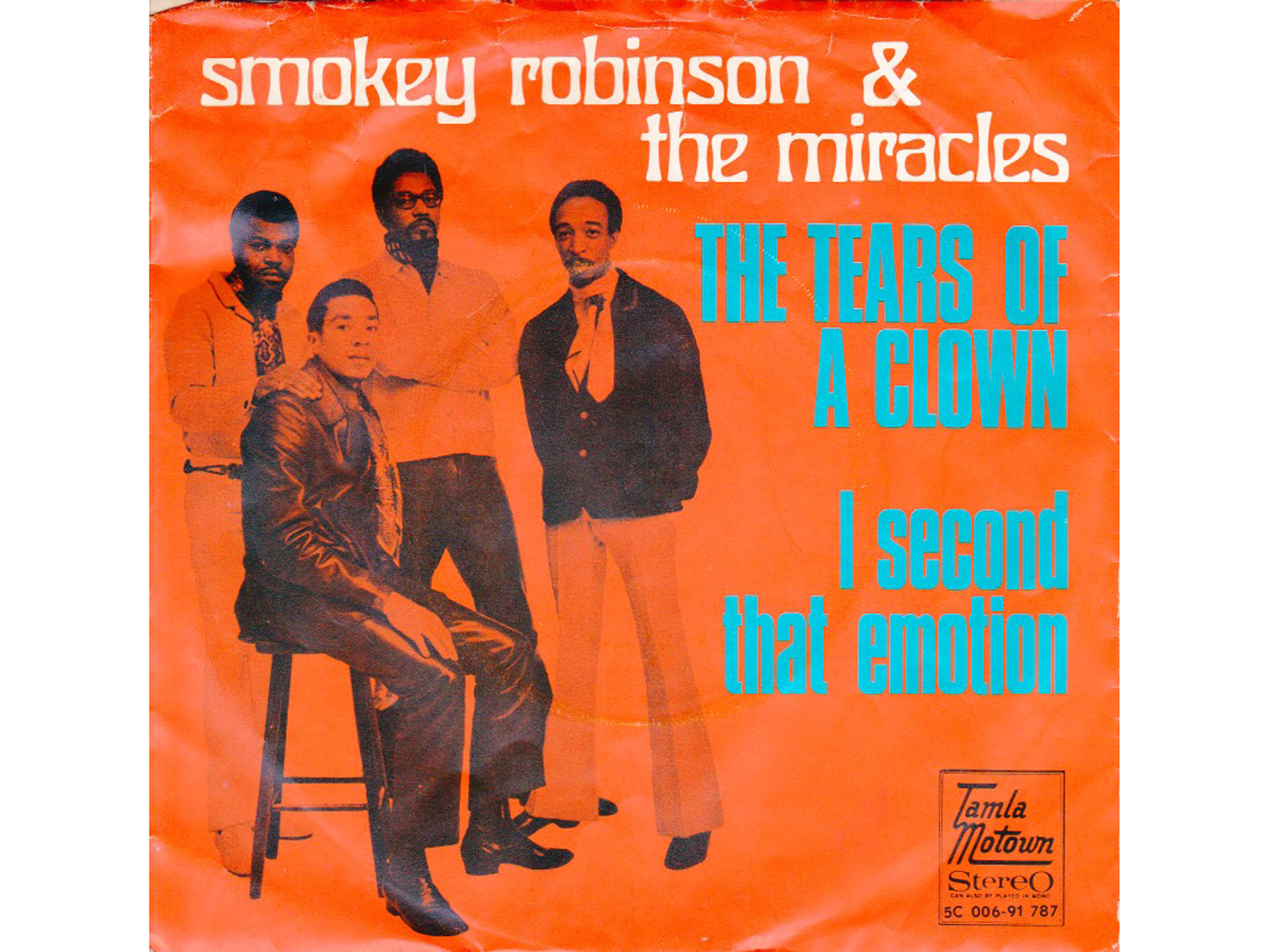 Smokey Robinson and the Miracles, I second that emotion, best soul songs
