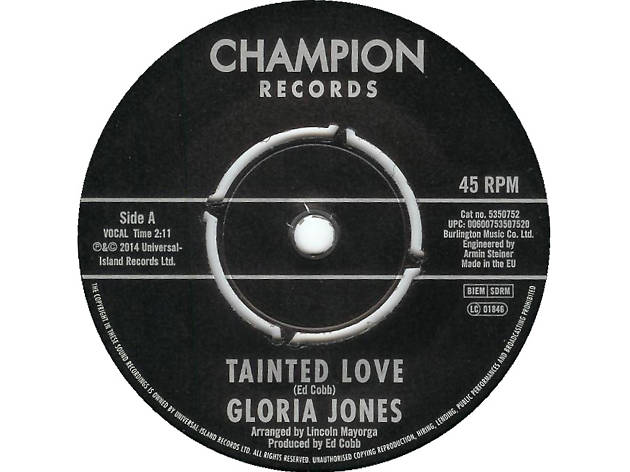 Tainted Love, Gloria Jones, best soul songs