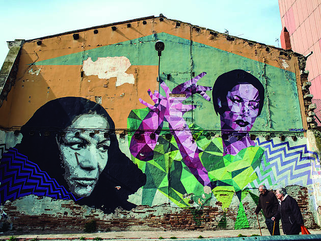 Mural Carmen Amaya