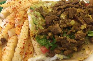 Shawarma de Noah's Falafel House