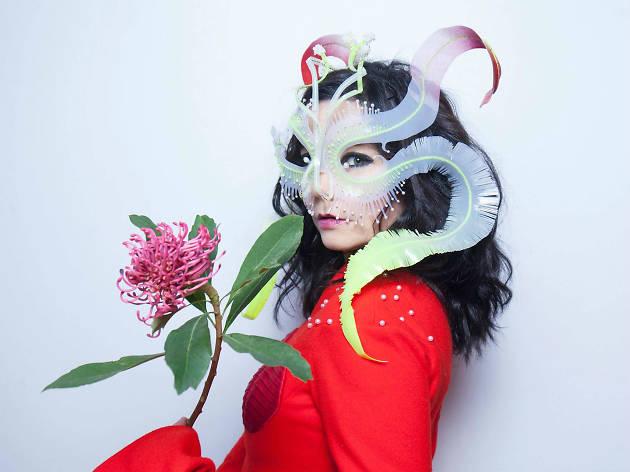 Björk en Ceremonia