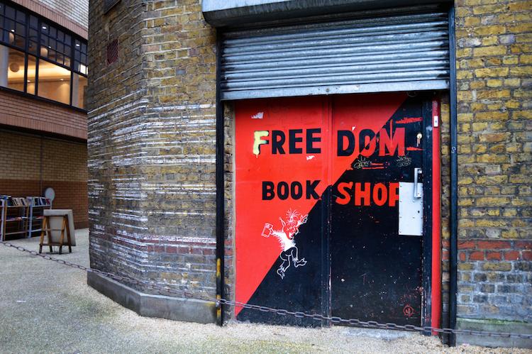 Help raise money to fund repairs to the Freedom Press bookshop in Whitechapel