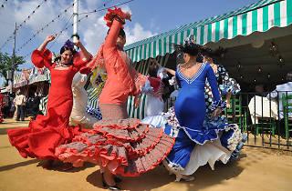 Rebujitos y sevillanas: la Feria de Abril también se celebra en Madrid