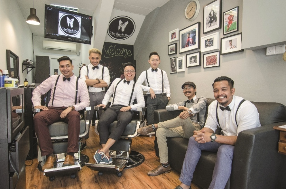 The Black Tie Barber Shop