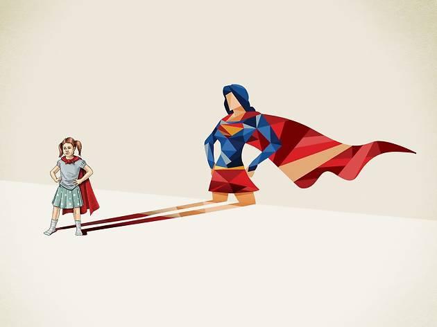 Girl Super Power !
