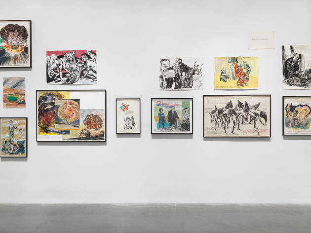 "Review: ""Raymond Pettibon: A Pen of All Work"""