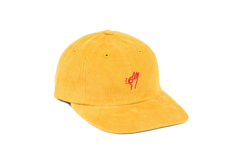OK corduroy polo hat