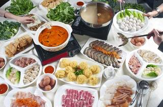 Xin Cuisine steamboat dinner